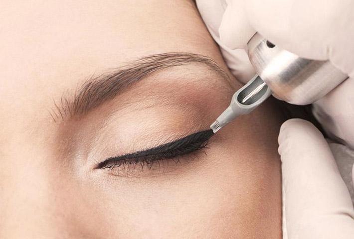 Micropigmentação dos olhos