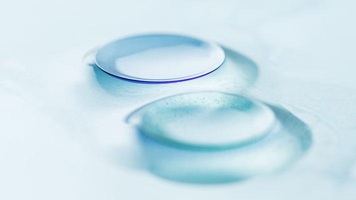 O que são lentes de contato